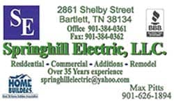 Spring Hill Electric - Gold Star Vendor